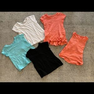 LA MADE MINI Lot of 5 Girls Tops 12-24M